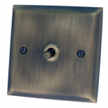 Spectrum Antique Bronze Toggle Light Switches